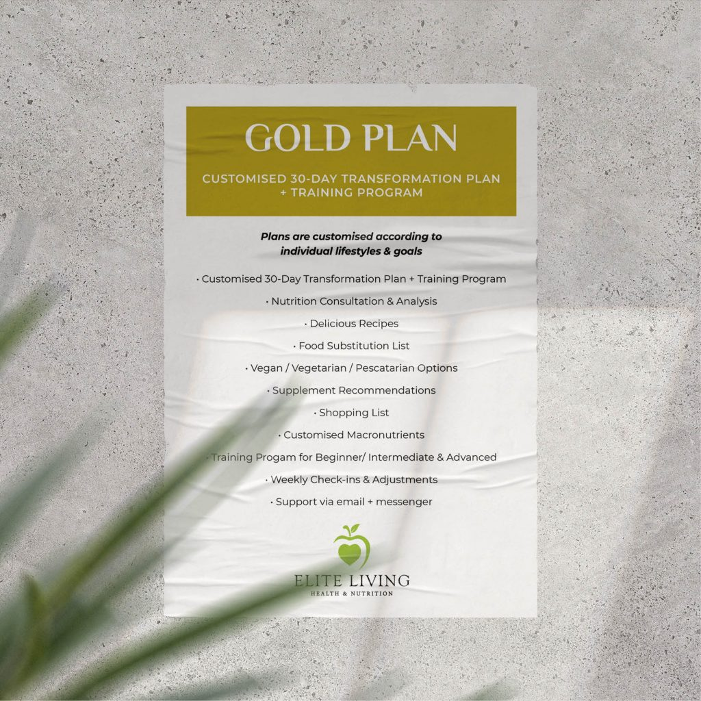 Laura Warren Customised Plan