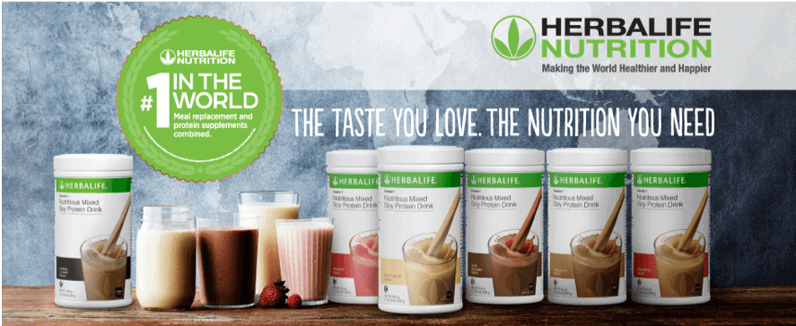Herbalife is the number 1 meal replacement plan